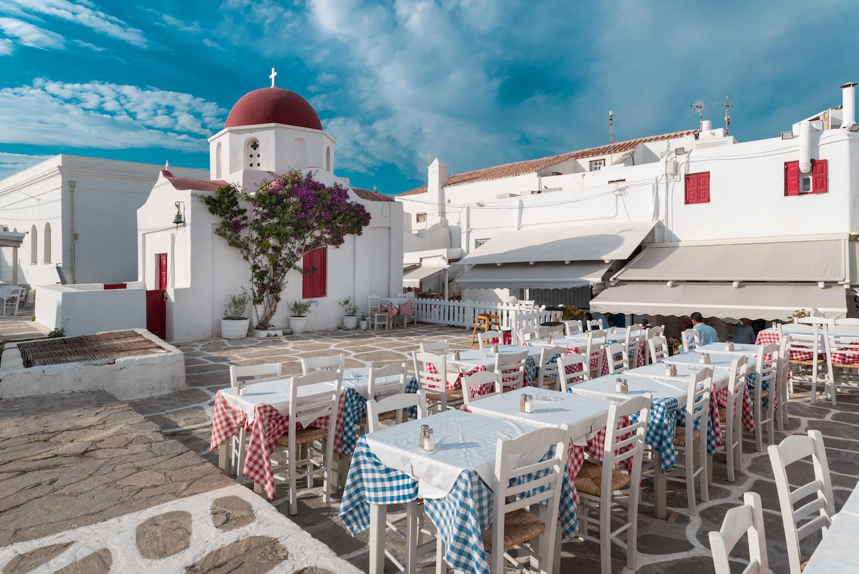 best restaurants in mykonos