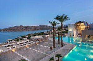 blue palace crete exterior
