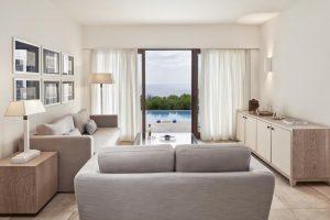 blue palace crete interior