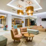 kiani beach resort lobby
