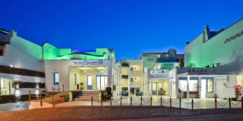 naxos island hotel exterior