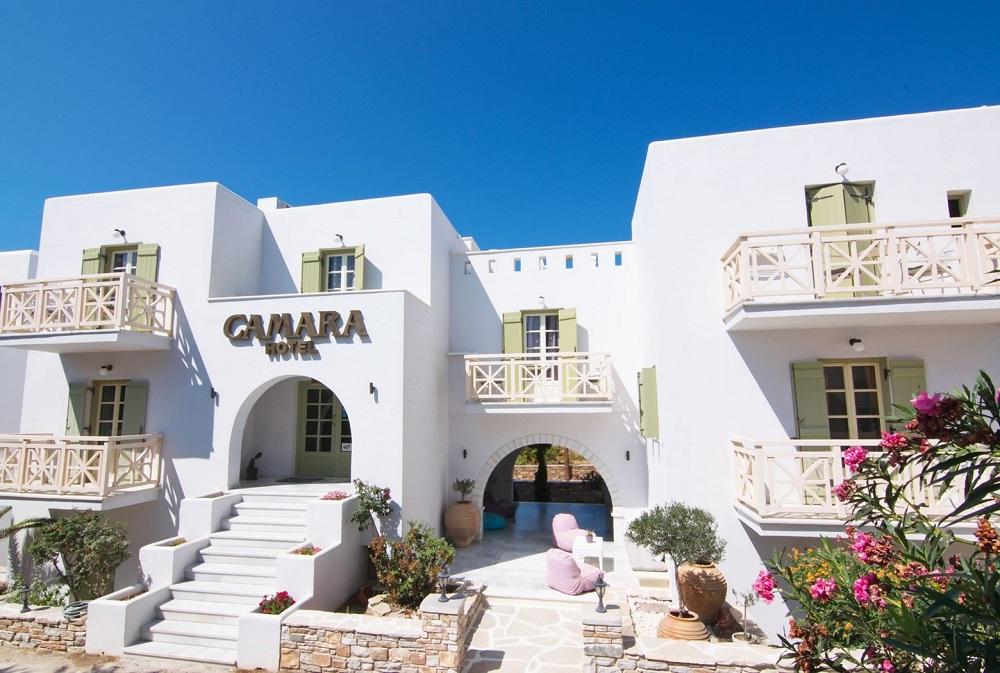 camara hotel naxos